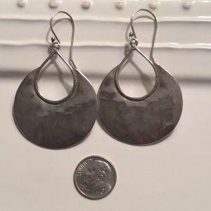 Silpada silver earrings